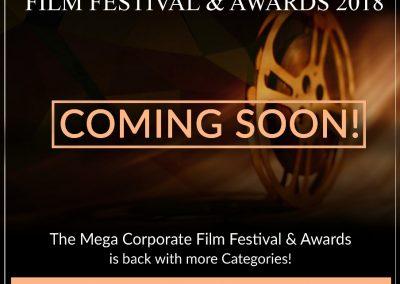 The Mega Corporate Film Festival and Awards 2018
