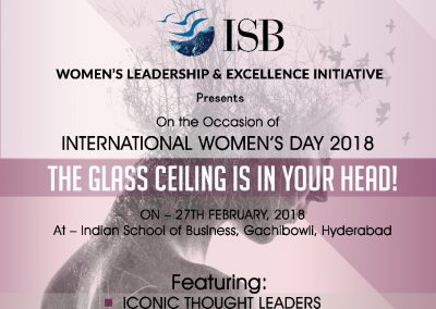 The Glass Ceiling is in Your Head - 27 Feb 2018