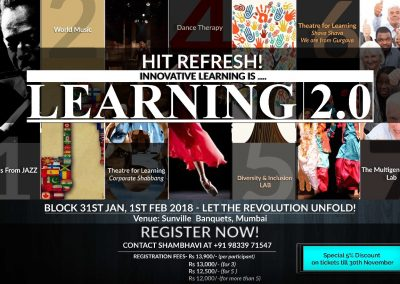 Learning 2.0 - 31 Jan-1 Feb 2018