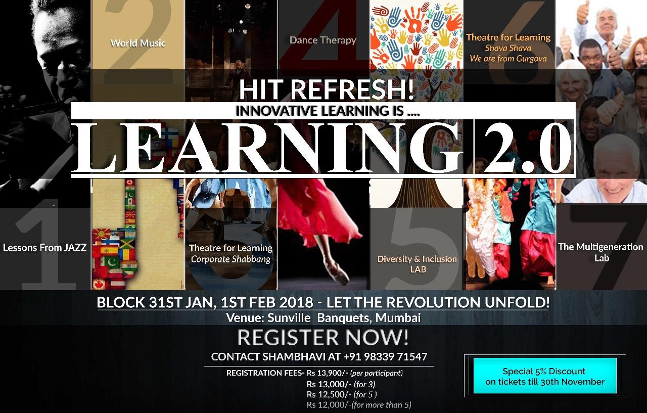 Learning 2.0 - 31 Jan-1 Feb 2018