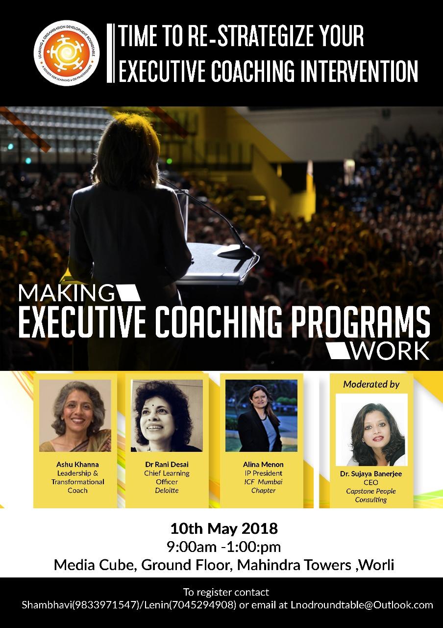 Making Executive Coaching Programs Work - 10 May 2018