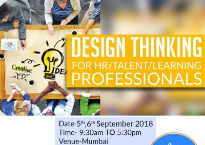 Design Thinking for HR/ Talent/ Learning Professionals