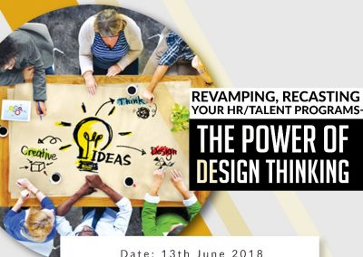 The Power of Design Thinking - 13 June 2018