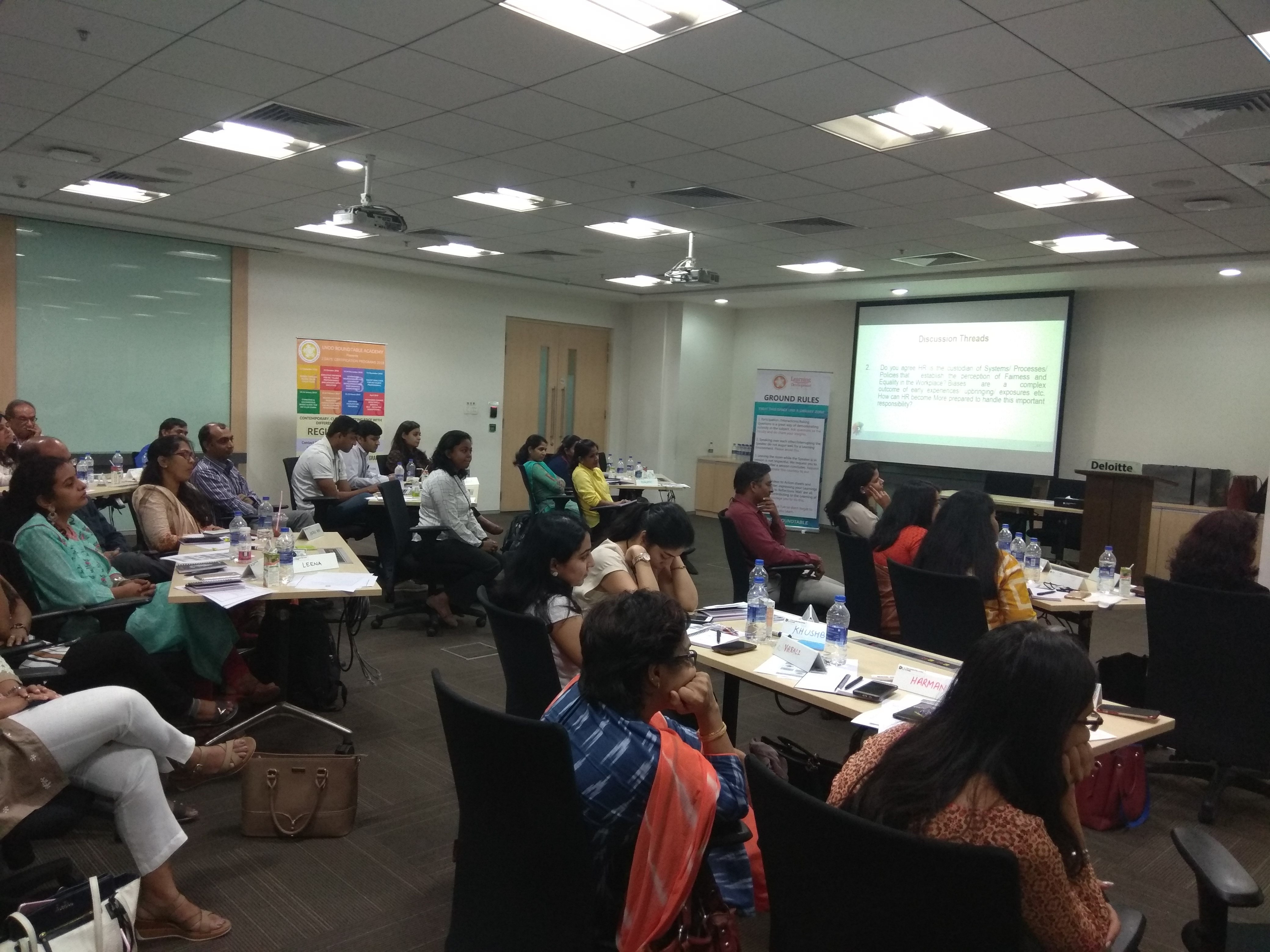 Conscious and Unconscious Biases along the HR/ Talent Value Chain_Hyderabad Masterclass_30 August 2018