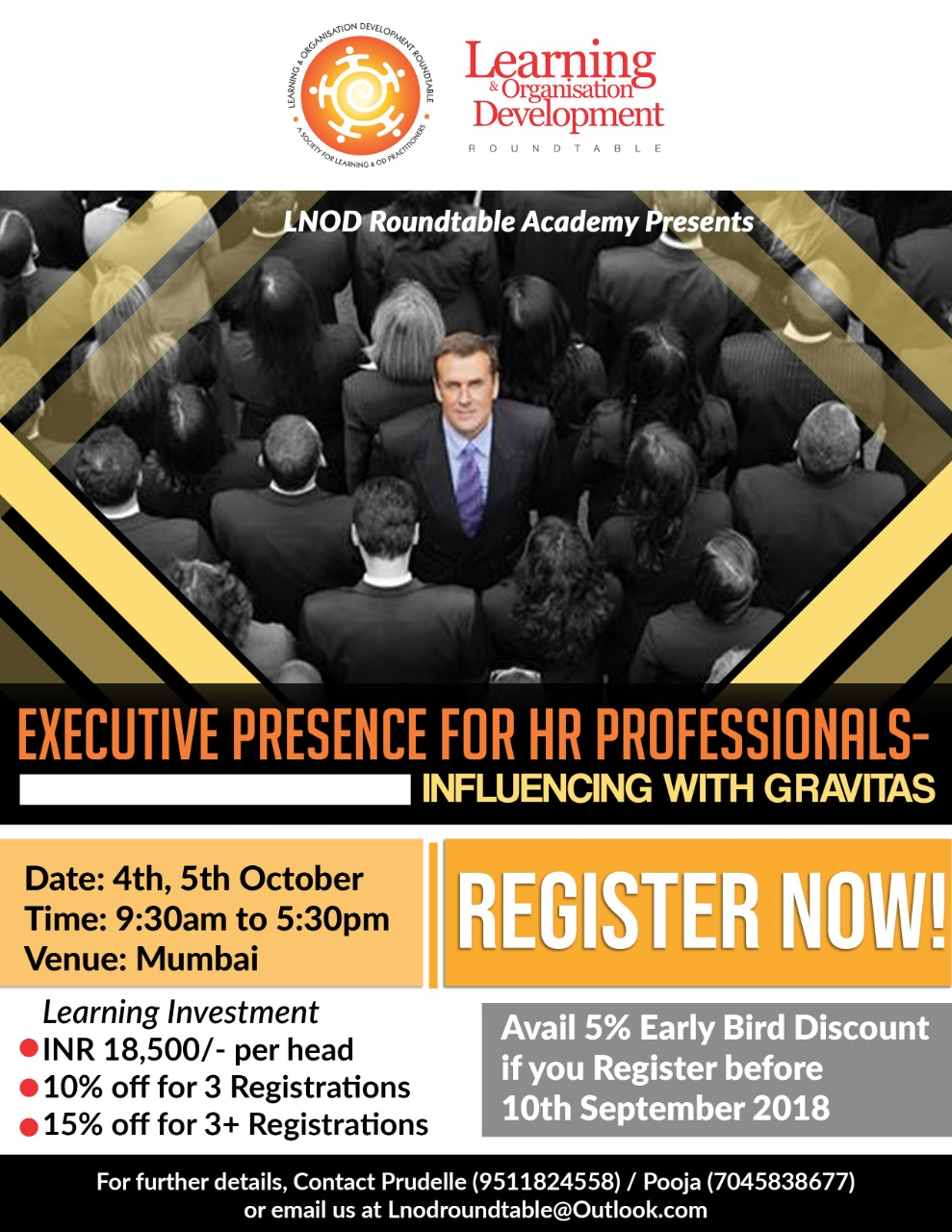 Executive Presence for HR Professionals