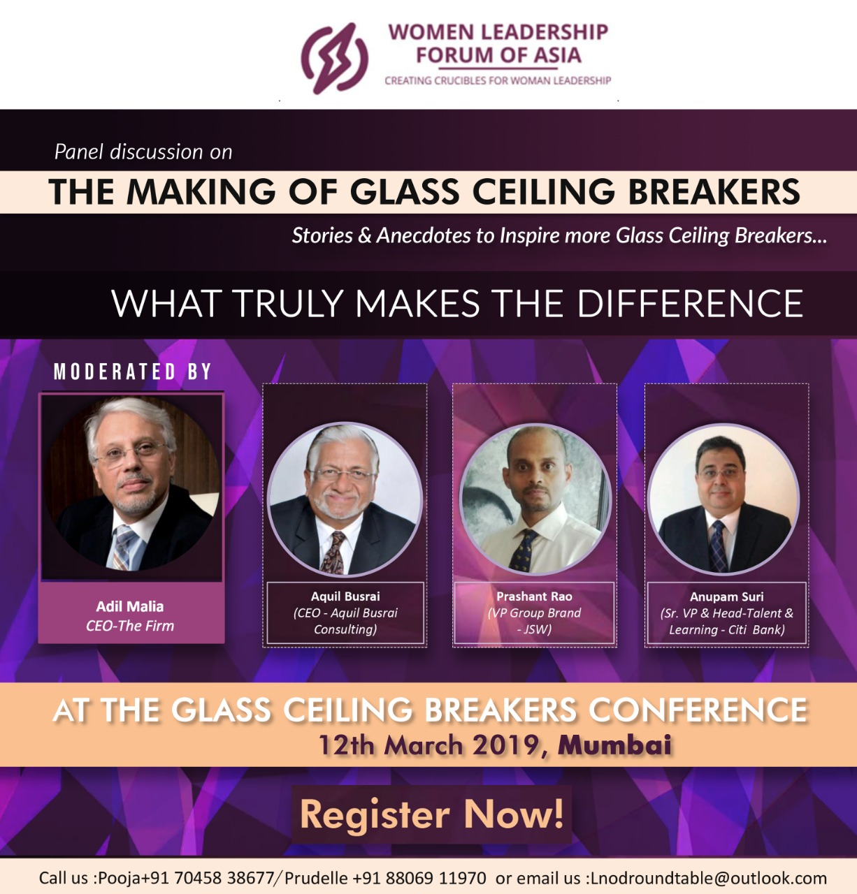 The Making of Glass Ceiling Breakers-What truly Makes the Difference!